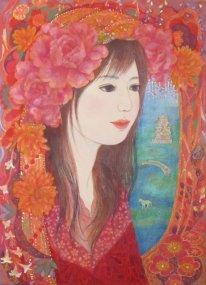 花のアーチ